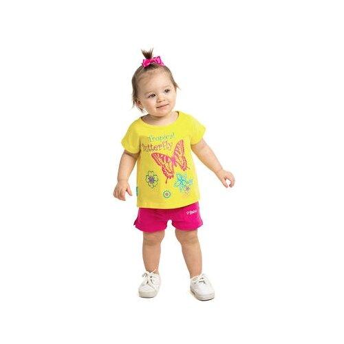 Футболка V-Baby размер 116, желтый