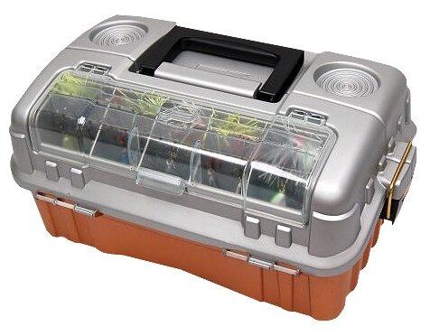Ящик для рыбалки PLANO 7603-00 44.4х27.9х19.6см коричневый/серебристый