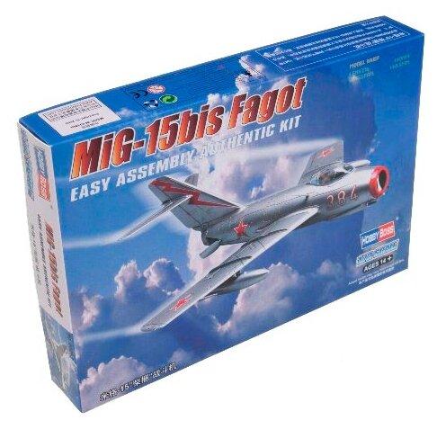 Сборная модель HobbyBoss MiG-15bis Fagot (80263) 1:72