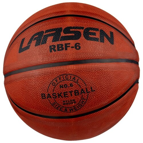 Баскетбольный мяч Larsen RBF6 , р. 6 оранжевый