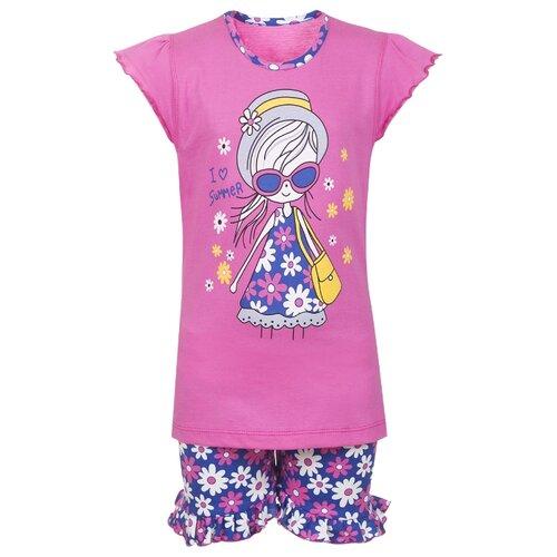 Комплект одежды M&D размер 104, розовый/синий