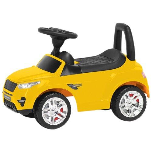 Каталка-толокар COLORPLAST 2-005 желтый каталка толокар orion toys мотоцикл 2 х колесный 501 зеленый