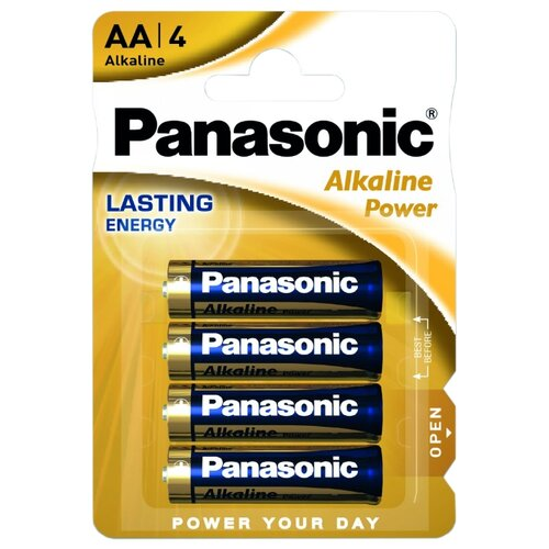 Фото - Батарейка Panasonic Alkaline Power AA/LR6, 4 шт. батарейка smartbuy aa lr6 ultra alkaline 40 шт