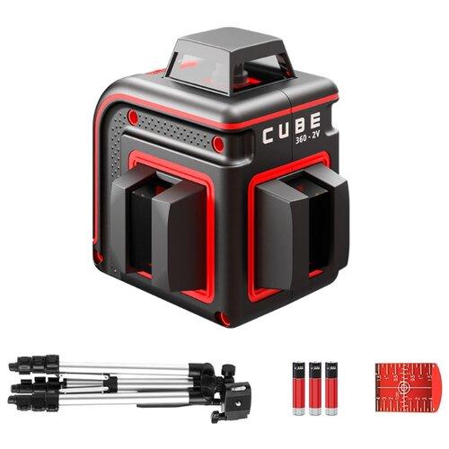Лазерный уровень ADA instruments CUBE 360-2V PROFESSIONAL EDITION (А00570) со штативом уровень ada cube 3d professional edition