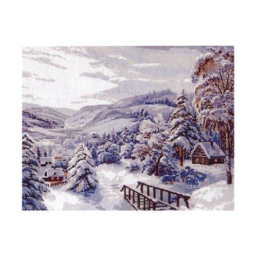 Купить Hobby & Pro Набор для вышивания Зимушка-зима 42 х 34 см (747), Наборы для вышивания