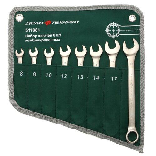 Набор гаечных ключей Дело Техники (8 предм.) 511081 набор отверток дело техники 728040
