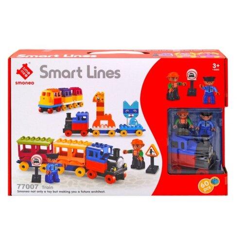 Купить Конструктор Smoneo Smart Lines 77007 Поезд, Конструкторы