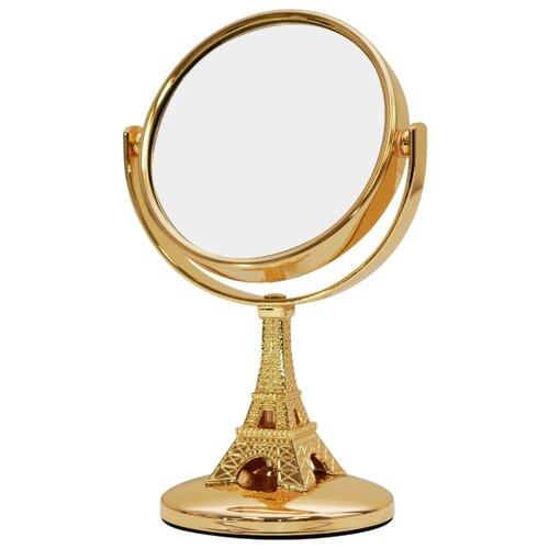 Зеркало косметическое настольное Belberg BZ-08 Париж золотой