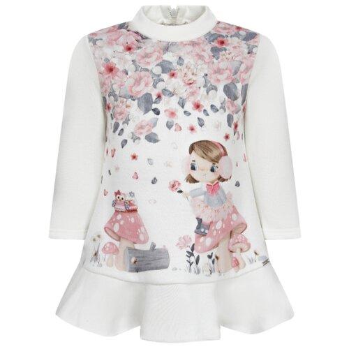 Платье Mayoral размер 92, белый платье mayoral размер 92 белый розовый
