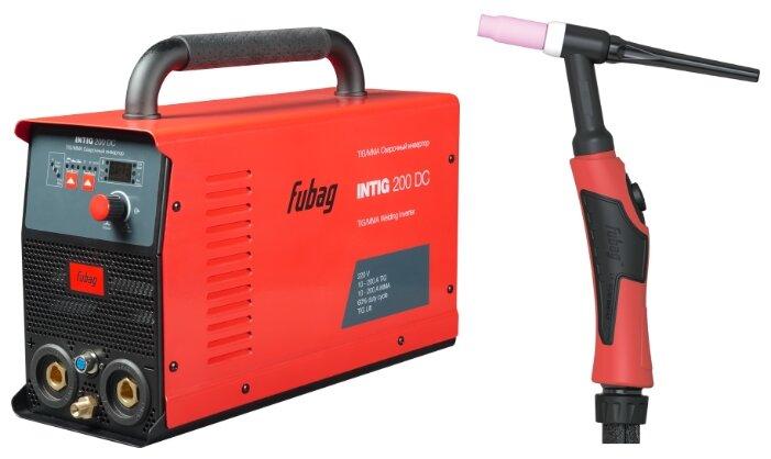 Сварочный аппарат Fubag INTIG 200 DC + горелка FB TIG 26 5P 4m (TIG, MMA) — купить по выгодной цене на Яндекс.Маркете