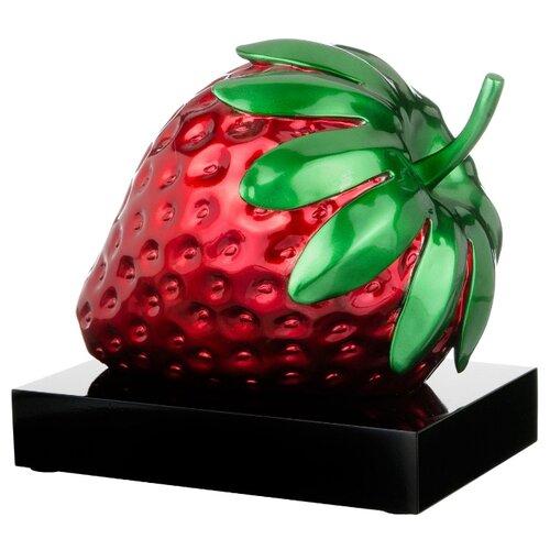 цена Статуэтка Арти М Клубничка 50-846, 27.5 см красный/зеленый/черный онлайн в 2017 году