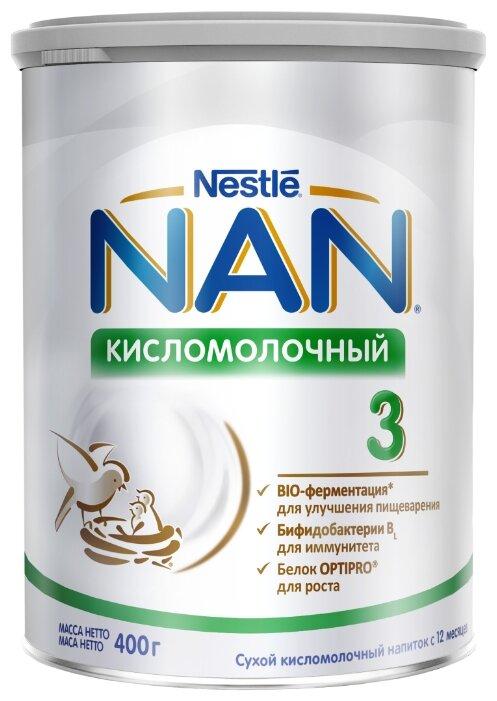 Смесь NAN (Nestlé) Кисломолочный 3, с 12 месяцев