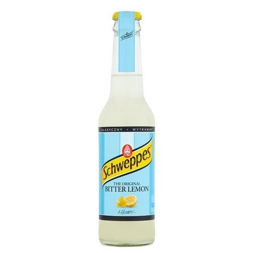 Газированный напиток Schweppes Bitter Lemon, 0.275 л