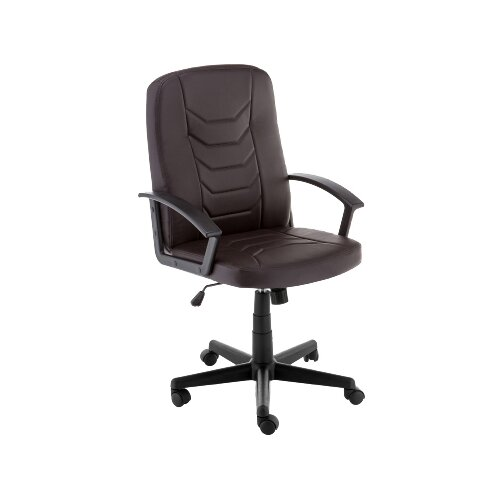 Фото - Компьютерное кресло Woodville Darin офисное, обивка: искусственная кожа, цвет: коричневый компьютерное кресло woodville rich офисное обивка искусственная кожа цвет коричневый