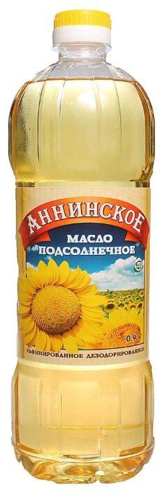 Аннинское Масло подсолнечное рафинированное
