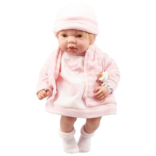 Купить Интерактивный пупс Arias Elegance в розовой одежде, 38 см, Т16354, Куклы и пупсы
