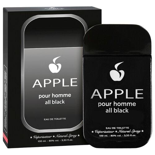 Туалетная вода Apple Parfums Apple pour Homme All Black, 100 мл apple parfums туалетная вода gladiator noir мужская 90 мл