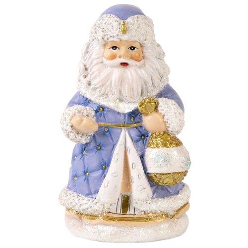 Фото - Фигурка Феникс Present Стеганный дед мороз 8 см фиолетовый фигурка феникс present дедушка мороз 26 см белый голубой красный