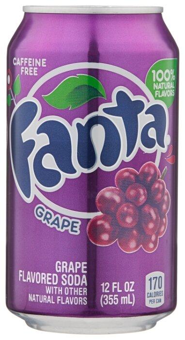 Газированный напиток Fanta Grape, США — купить по выгодной цене на Яндекс.Маркете