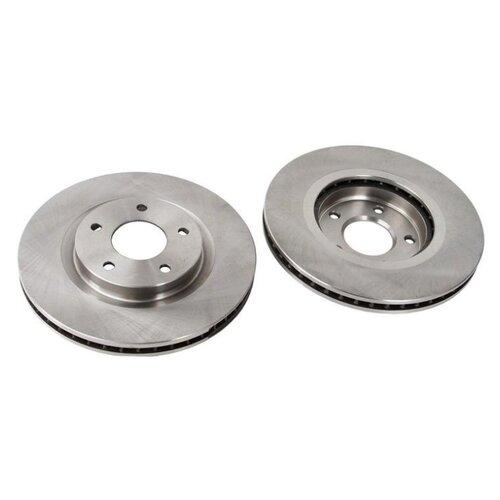 цена на Комплект тормозных дисков передний TRW DF4964 295.8x26 для Nissan Juke, Nissan Qashqai, Renault Koleos, Nissan X-Trail (2 шт.)