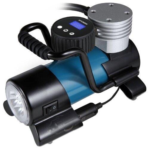 Автомобильный компрессор Hyundai HY 1650 синий/черный