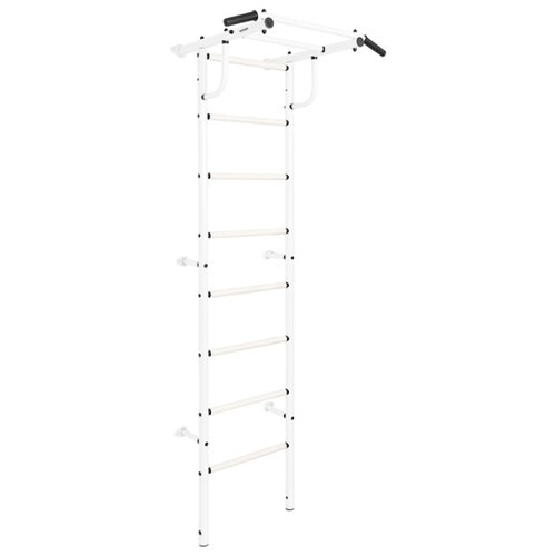 Шведская стенка с навесным оборудованием KETT-UP Acrobat 1 KU170/KU171, белый глянец