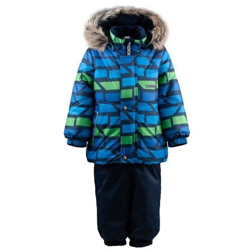 Купить Комплект с полукомбинезоном KERRY размер 92, 2299 синий, Комплекты верхней одежды