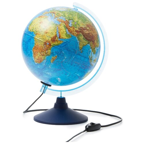 Купить Глобус физический Globen Классик Евро 250 мм (Ке012500189) синий, Глобусы