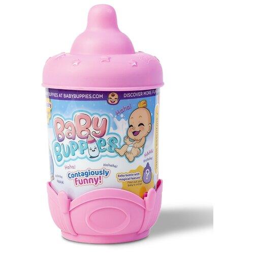Фото - Интерактивный пупс Baby Buppies Малыш в колыбельке, 8 см, pink/astBP002D2 интерактивный пупс baby doll