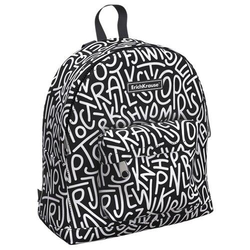 Купить ErichKrause рюкзак EasyLine Mini Alphabet, черный, Рюкзаки, ранцы