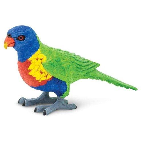 Купить Фигурка Safari Ltd Wings of the World Birds Многоцветный лорикет 150229, Игровые наборы и фигурки