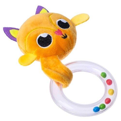Погремушка Крошка Я Лисичка 3841002 оранжевый/фиолетовый погремушка крошка я песочные часы 3650063 желтый оранжевый