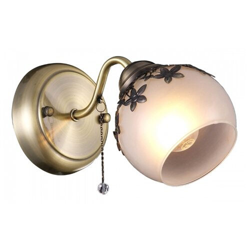 Настенный светильник Natali Kovaltseva 75036-1W ANTIQUE, 40 Вт бра natali kovaltseva 11461 1w french
