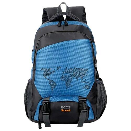 Рюкзак ECOS Scout 35 (голубой)