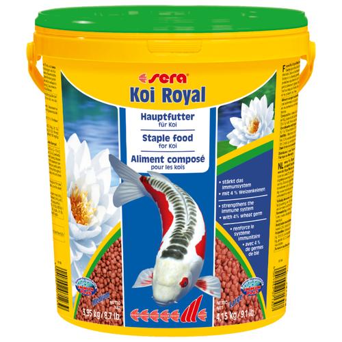 Сухой корм для рыб Sera Koi Royal ST medium 21000 мл 3950 г