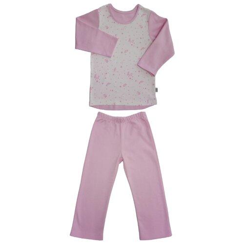 Купить Пижама Наша мама размер 104, розовый/белый, Домашняя одежда