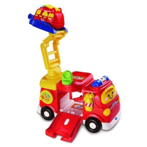 Купить Интерактивная развивающая игрушка VTech Большая пожарная машина красный, Развивающие игрушки