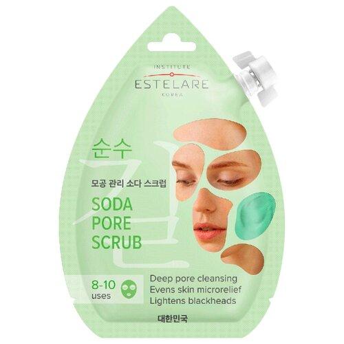 Estelare скраб для лица содовый Выравнивающий 20 мл 1 шт.