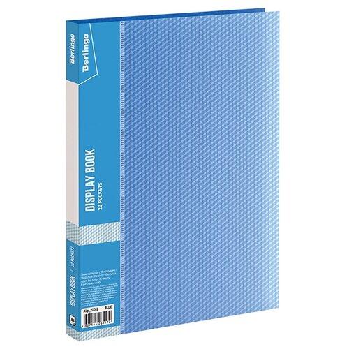 Купить Berlingo Папка с 20 вкладышами Diamond A4, пластик синий, Файлы и папки