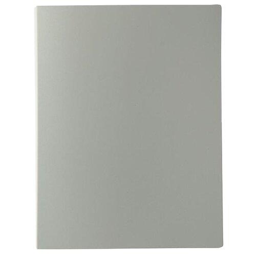 Купить Calligrata Папка на 80 файлов А4, пластик 700 мкм серый, Файлы и папки