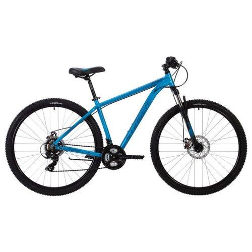 Горный (MTB) велосипед Stinger Element Evo 29 (2020) синий 20 (требует финальной сборки) велосипед stinger 26 banzai 20 синий 26 sfv banzai 20 bl7