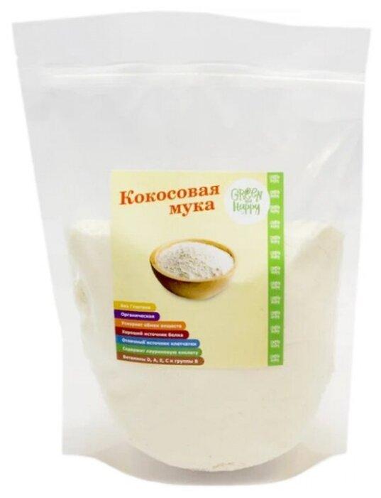 Мука Green and Happy кокосовая, 0.3 кг