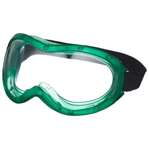 Очки ИСТОК Евро-Панорама зеленый маска исток щит003