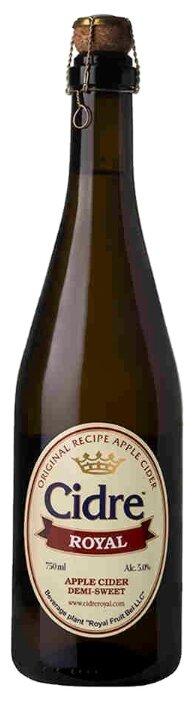 Сидр Cidre Royal яблочный полусладкий 0.75л