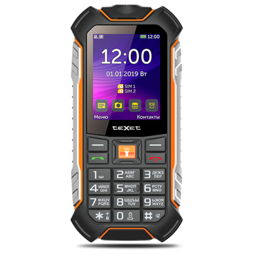 Телефон teXet TM-530R, черный