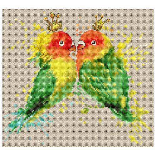 Набор для вышивания Попугаи, Luca-S