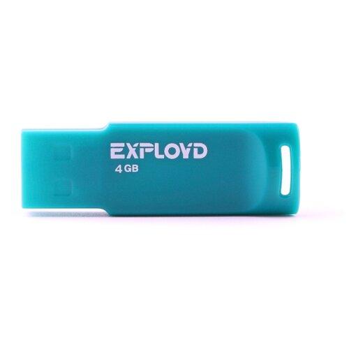 Купить Флешка EXPLOYD 560 4GB green