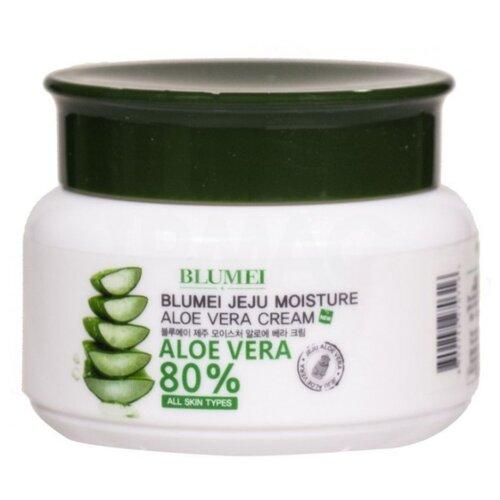 Blumei Jeju Moisture Aloe Vera Cream Увлажняющий крем для лица с алоэ вера, 100 мл