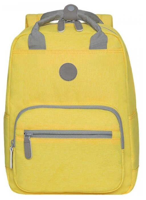 Купить Рюкзак Grizzly RX-026-7 /5 желтый по низкой цене с доставкой из Яндекс.Маркета (бывший Беру)