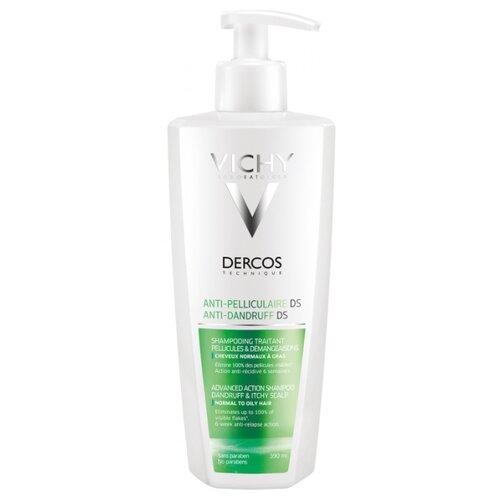 Vichy шампунь Dercos Anti-Dandruff Normal to Oily Hair 390 мл с дозатором dercos neogenic от vichy